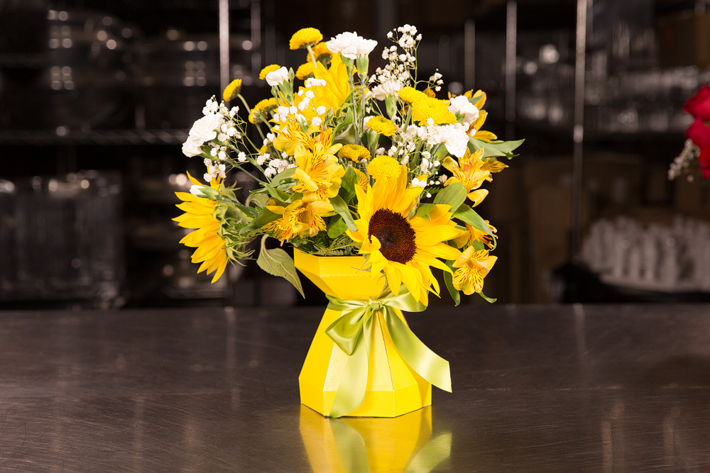 AquaBox-Yellow-Sunflower-Design